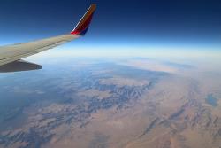 LA에서 콜로라도 덴버까지 비행기에서 내려다 본 풍경과 미리 쓰는 8박9일 자동차여행 에필로그