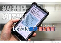 LG V30 ThinQ 업데이트, 새폰 된 LG V30 씽큐 기능 후기