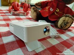 나만의 작은 영화관 LG 미니빔 TV(PH30JG)!! 스마트폰과 연결 방법 너무 쉬워 더 즐거운 영화 감상