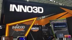 [컴퓨텍스 2017] 자사 그래픽카드와 3D 프린터 시연한 Inno3D 부스