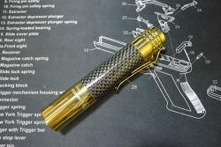 Lumintop Prince Brass XP-L HD Flashlight