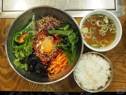 가을 저녁, 갈비탕과 육회비빔밥
