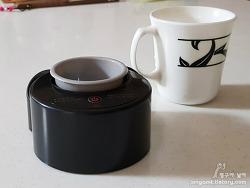 커피 스터링 머신 나비 카페믹스(NV22-CAFEMIX)로 스푼없이 커피타기 가능할까?