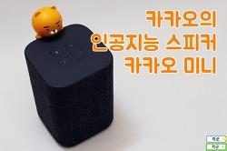 카카오미니 후기, 모습 드러낸 카카오 인공지능 스마트 스피커