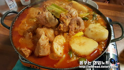 시청 닭도리탕 맛집 - '풍년 닭도리탕' 후기