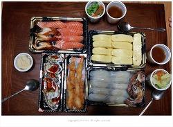 방이동 초밥맛집 스시유메 광어초밥.계란초밥.연어초밥은 울집 단골 야식메뉴~♡