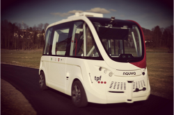 First autonomous transport service in Switzerland inaugurated