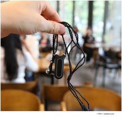 엔보우 노블 M700 블루투스, 목걸이 형태의 이어폰, MP3플레이어