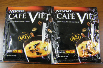 베트남의 인스턴트 커피 - 네스카페의 카페비엣(cafe viet)