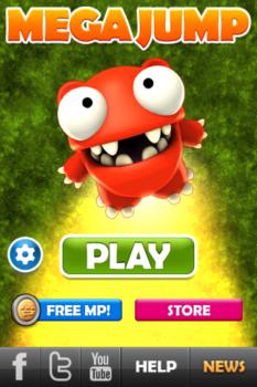 [아이폰] 메가 점프 - 재밌는 스마트폰 꽁짜 게임