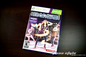 [XBOX360] DANCE MASTERS - DANCE EVOLUTION 북미판