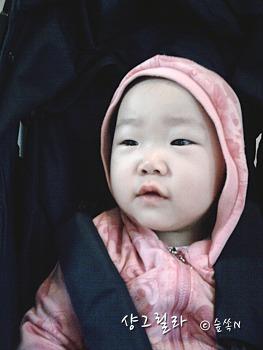 18개월 딸아이는 요양중? or 귀향중?