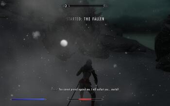 [스카이림 메인퀘스트 공략] 14. The Fallen