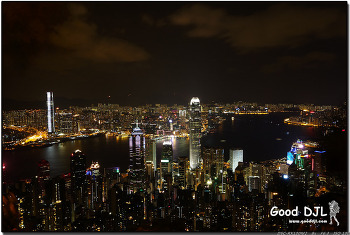 두 형제의 중국 여행기 - 25. 야경이 아름다운 홍콩 여행. (홍콩 - 침사추이, 피크타워)