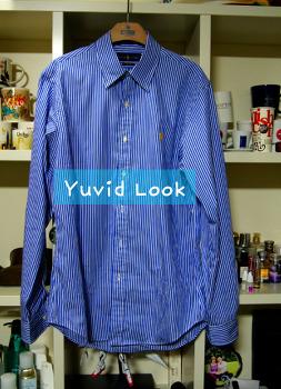 [Yuvid Look 구매보고서] polo ralph lauren 폴로 랄프로렌 스트라이프 셔츠 모마디자인 공유 셔츠 등 구매보고서 !