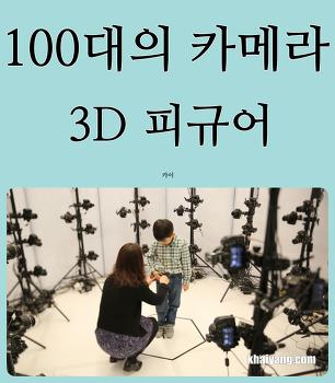 100대 카메라로 만드는 3D 피규어, 연인과 아이들 선물로 제격(이오이스)