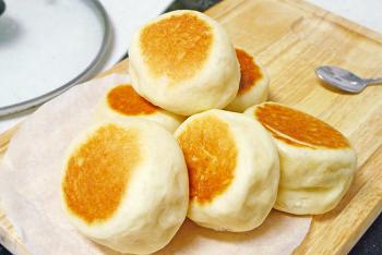 노오븐 베이킹 프라이팬으로 빵만들기 오븐없이 빵만들기