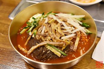 고기 아닌 해물로 육수를 낸 독특한 냉면집 '하면옥' | 거제도 맛집