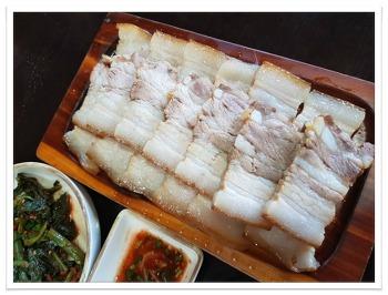 봉평맛집-고향막국수 수육,메밀만두,감자팥떡도 별미~*