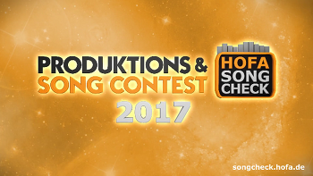 2017 HOFA PRODUKTIONS & SONG CONTEST ( 2017년 7월 31일 마감 )