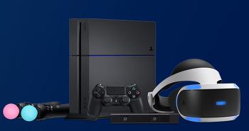 소니 PS VR(PlayStation VR) 예약판매.