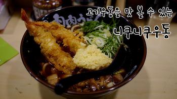 일본 후쿠오카여행, 여자 혼자 떠난 먹방여행에서 맛본  니쿠니쿠우동