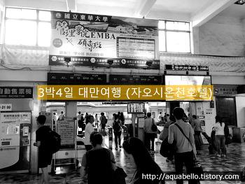 [해외여행/대만] 3박4일 대가족 패키지 대만여행 11편 (자오시온천호텔)