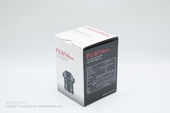 삼양 14mm F2.8 ED AS IF UMC(캐논마운트)
