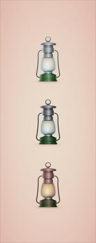 [일러스트] 일러스트를 이용한 야영 스탠트 아이콘 만들기