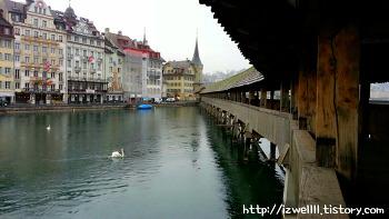 스위스 루체른여행;슬픈 얼굴을 한 '빈사의 사자상'