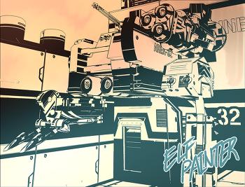 SketchUP + Clipstudio