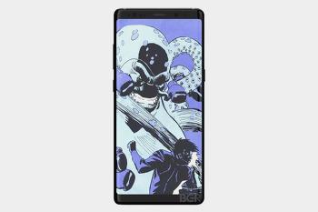 갤럭시노트8 최신 렌더링 이미지 공개! 지문인식 센서는?