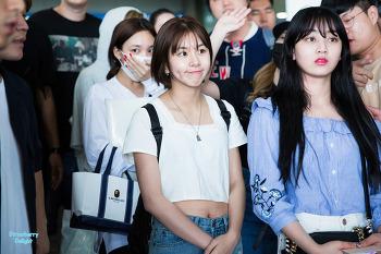 170626 인천공항 입국 트와이스 채영