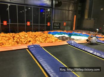 호주 시드니 일상: 알렉산드리아 스카이존에서 트램폴린 즐기기ㅎ