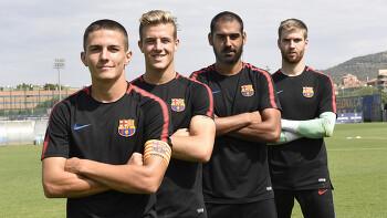 바르셀로나 B 주장단 및 정리 소식
