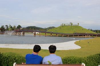 순천여행 / 순천만 호수정원과 중국 정원 여름풍경