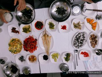 낙안 입성 앞 꼬막 정식 식당