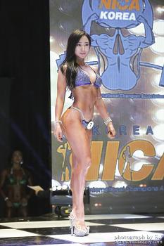 2018 니카코리아 퍼스트 챔피언십 비키니피트니스 백향유