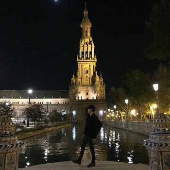 세비야 스페인광장과 마리아루이사 공원, 혼자여서 서러웠던 곳