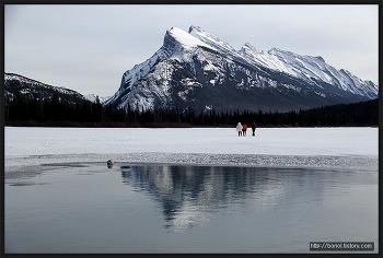 [캐나다 겨울 여행 ①] 캐나다 로키; 에머랄드 호수와 밴프, 그리고 버밀리언 호수