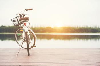 대전 자전거길 3선, 자전거 타고 꽃비 맞으며...