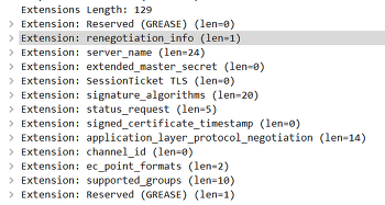 SSL/TLS 의 ClientHello에 대한 뻘끌