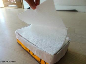 쇼핑백 재활용 핸드타올 케이스 만들기