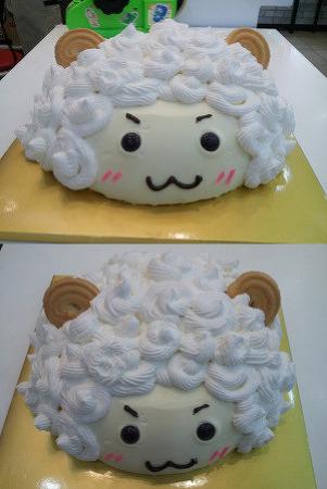 케익을 냉장고에 혼자 두면 헉.;;; 엽기 케익