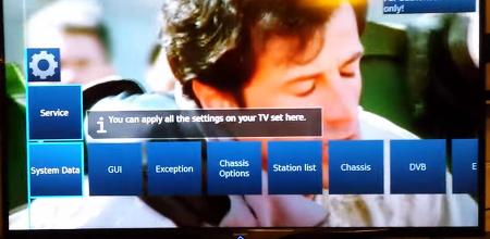 샤프 SHARP TV 서비스모드 서비스코드 들어가는 방법