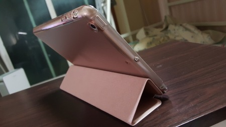 아이패드 미니2(iPad mini 2) + 라이노(Rhino) 스마트 커버 (로즈골드)
