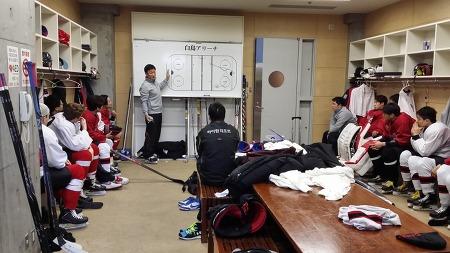 하이원팀, 준플레이오프 최종 3차전 경기를 앞두고... ...