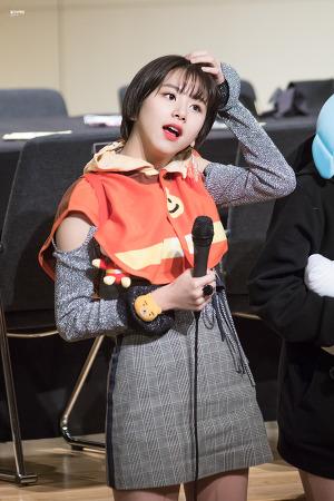 [170305] 'KNOCK KNOCK' 을지로 팬싸인회 - 채영이
