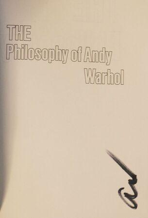 앤디 워홀의 철학