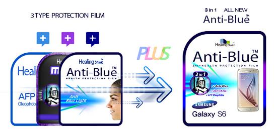 [사용기] 삼성 갤럭시 탭S2 9.7 LTE 블루라이트차단 충격흡수(방탄) 3 in 1 기능성 시력보호 필름 리뷰